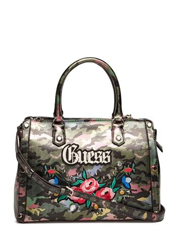 GUESS Adlands Satchel CAMOUFLAGE