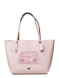 Coach Kh Boombox Market Tote BP/ICE PINK