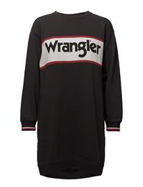 Wrangler Sweat Dress FADED BLACK
