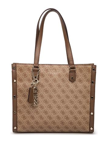 GUESS Lorence Tote BROWN