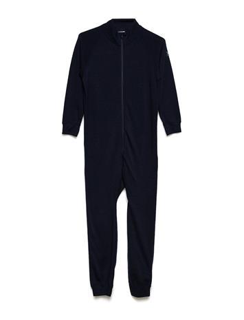 Polarn O. Pyret Overall Solid Wool Preschool DARK SAPPHIRE