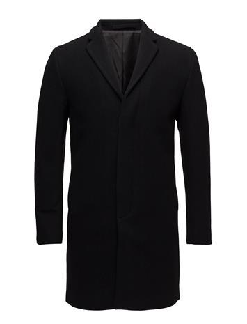 Selected Homme Slhbrove Wool Coat B Noos BLACK