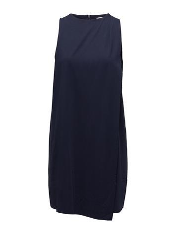 Mango Double Layer Dress NAVY