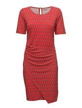 Fransa Fxtirey 2 Dress FIERY RED MIX