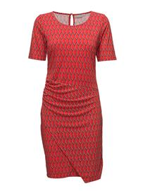 Fransa Fxtirey 2 Dress FIERY RED MIX