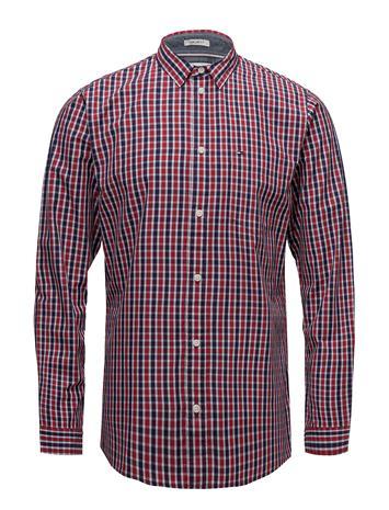 Tommy Jeans Tjm Essential Mini Check Shirt SAMBA