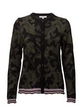Coster Copenhagen Cardigan In Camouflage Jacquard Kni CAMOUFLAGE