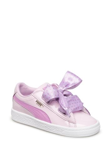 PUMA Basket Heart Stars Inf WINSOME ORCHID-ORCHID-PUMA TEAM GOLD