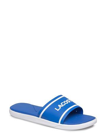 Lacoste Shoes L.30 Slide 218 1 BLU/WHT SYN