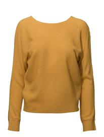 Mango Knot Detail Sweater MEDIUM YELLOW