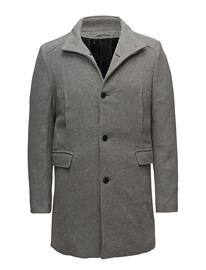 Selected Homme Slhmosto Wool Coat B MEDIUM GREY MELANGE