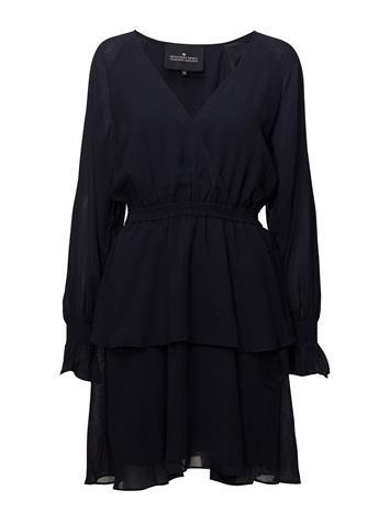 Designers Remix Lea Wrap Dress NAVY