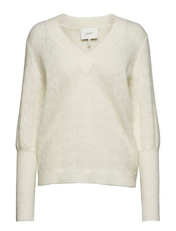 Just Female Teri Knit OFF WHITE