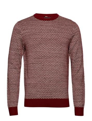 Tommy Hilfiger Tailored Mini Patterned Cneck SUNDRIED TOMATO