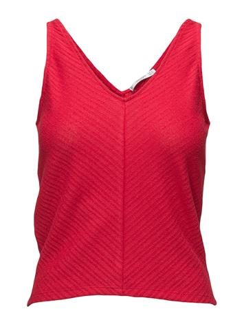 Mango Seam Textured Top RED