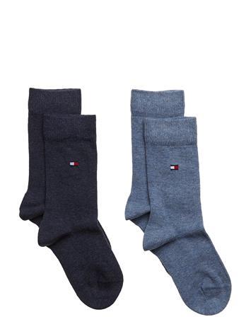 Tommy Hilfiger Th Children Sock Th Basic 2p JEANS