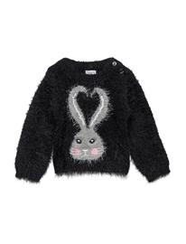 Polarn O. Pyret Knitted Top Baby BLACK