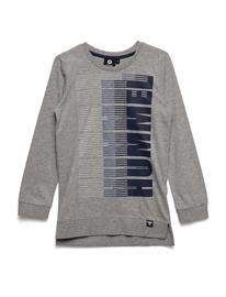 Hummel Hmlleonard T-Shirt L/S GREY MELANGE