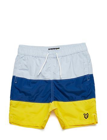 Lyle & Scott Junior Colour Block Swim Short SOFT BLUE