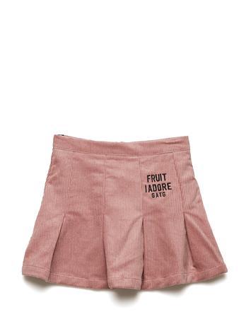 Gardner & the Gang Corduroy Skirt DUSTY PINK