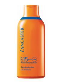 Lancaster Sun Care Face & Body Tanlotion Silky Milk Spf15 NO COLOR