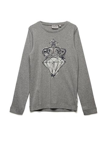 Wheat T-Shirt Diamond MELANGE GREY
