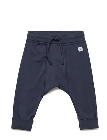 Polarn O. Pyret Trousers Solid Newborn MOOD INDIGO
