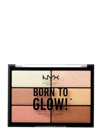 NYX PROFESSIONAL MAKEUP Born To Glow Highlighting Palette NO COLOR