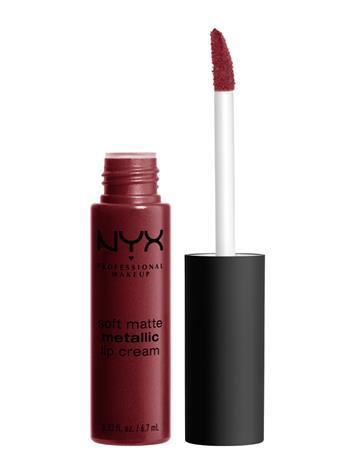 NYX PROFESSIONAL MAKEUP Soft Matte Metallic Lip Cream BUDAPEST