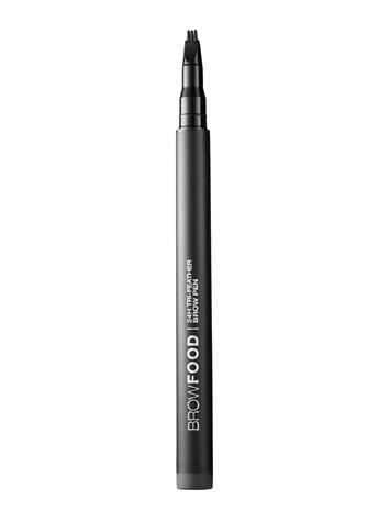 LashFood Browfood 24h Tri-Feather Brow Pen CHARCOAL