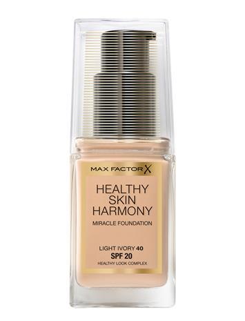 Max Factor Skin Harmony Foundation40 Light Ivory 40 LIGHT IVORY