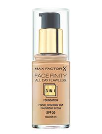 Max Factor All Day Flawles 3in1 Foundation 075 Golden 075 GOLDEN