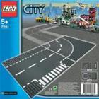 Lego City 7281, T-risteys ja kaarre