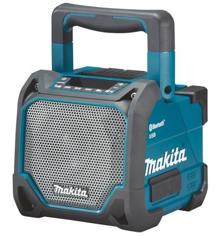 Makita DMR202 12-18V, Bluetooth-kaiutin (ilman akkua ja laturia)