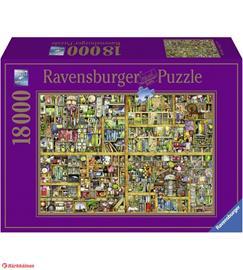 Ravensburger Magical Bookcase 18000 palaa palapeli