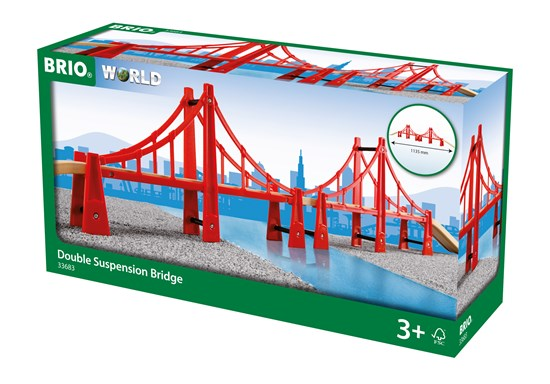 Brio World 33683, Riippusilta (Double Suspension Bridge)