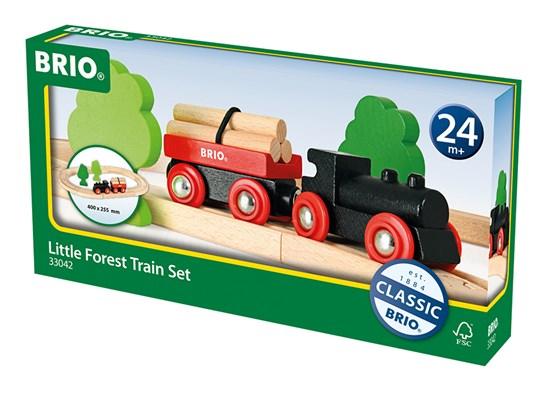 Brio World 33042, Pieni metsäjuna (Little Forest Train Set)