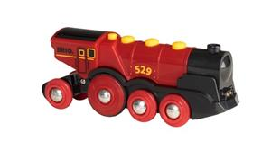Brio World 33592, Tehokas punainen paristoveturi (Mighty Red Action Locomotive)