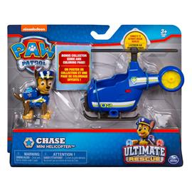 Ryhmä Hau (Paw Patrol) Ultimate Rescue - Chase Mini Helicopter