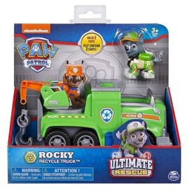 Ryhmä Hau (Paw Patrol) Ultimate Rescue - Rocky's Recycle Truck