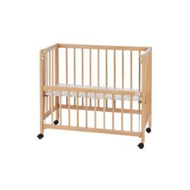 TISSI® sivuvaunusänky, luonnollinen - luonnonvärinen - Gr.40x90 cm