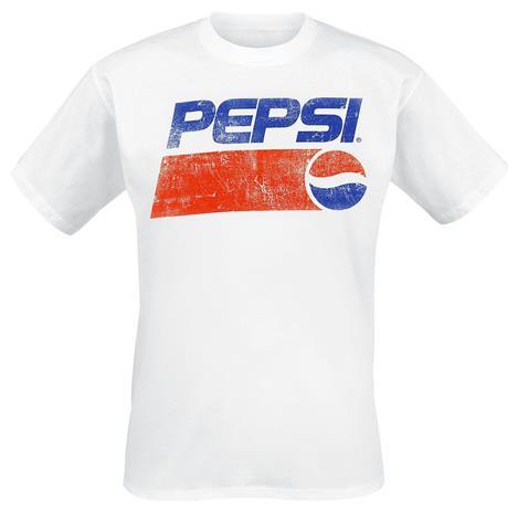 Pepsi Logo T-paita valkoinen