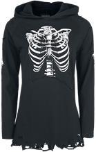 Gothicana by EMP Waiting To Get Out Naisten pitkähihainen paita musta