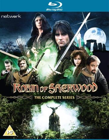 Robin Of Sherwood: Koko sarja (Blu-Ray), TV-sarja