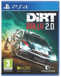 Dirt Rally 2.0, PS4 -peli