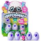 Hatchimals Colleggtibles Season 4 - 4-pack + bonus, interaktiivinen lelu