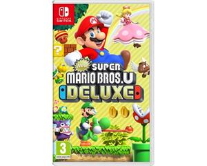 New Super Mario Bros. U Deluxe, Nintendo Switch -peli