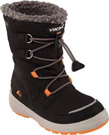 Viking Totak GTX Kengät, Black/Orange 20