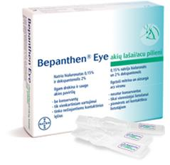 Bepanthen Eye 20 x 0,5ml, silmätipat