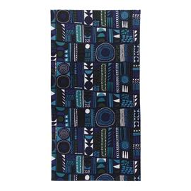 Marimekko Njalla-pöytäliina 35x260 cm musta-sininen a2dec47db1
